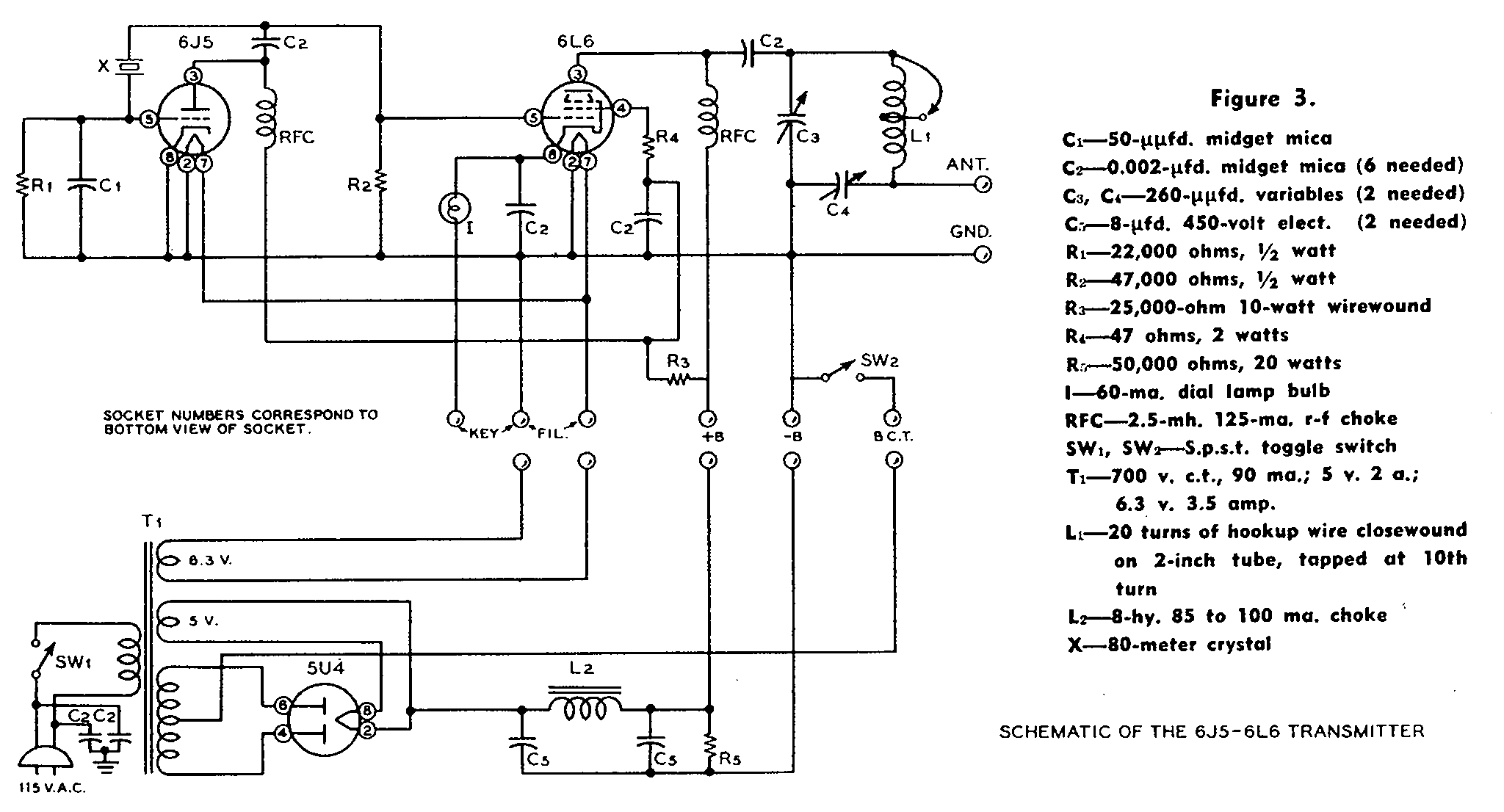 David Newkirk Writings Enjoying Radio Seventy Five Years Of The 64 Et Wiring Diagram Boosted Pierce Transmitter Schematic From Page 288 1947 Handbook