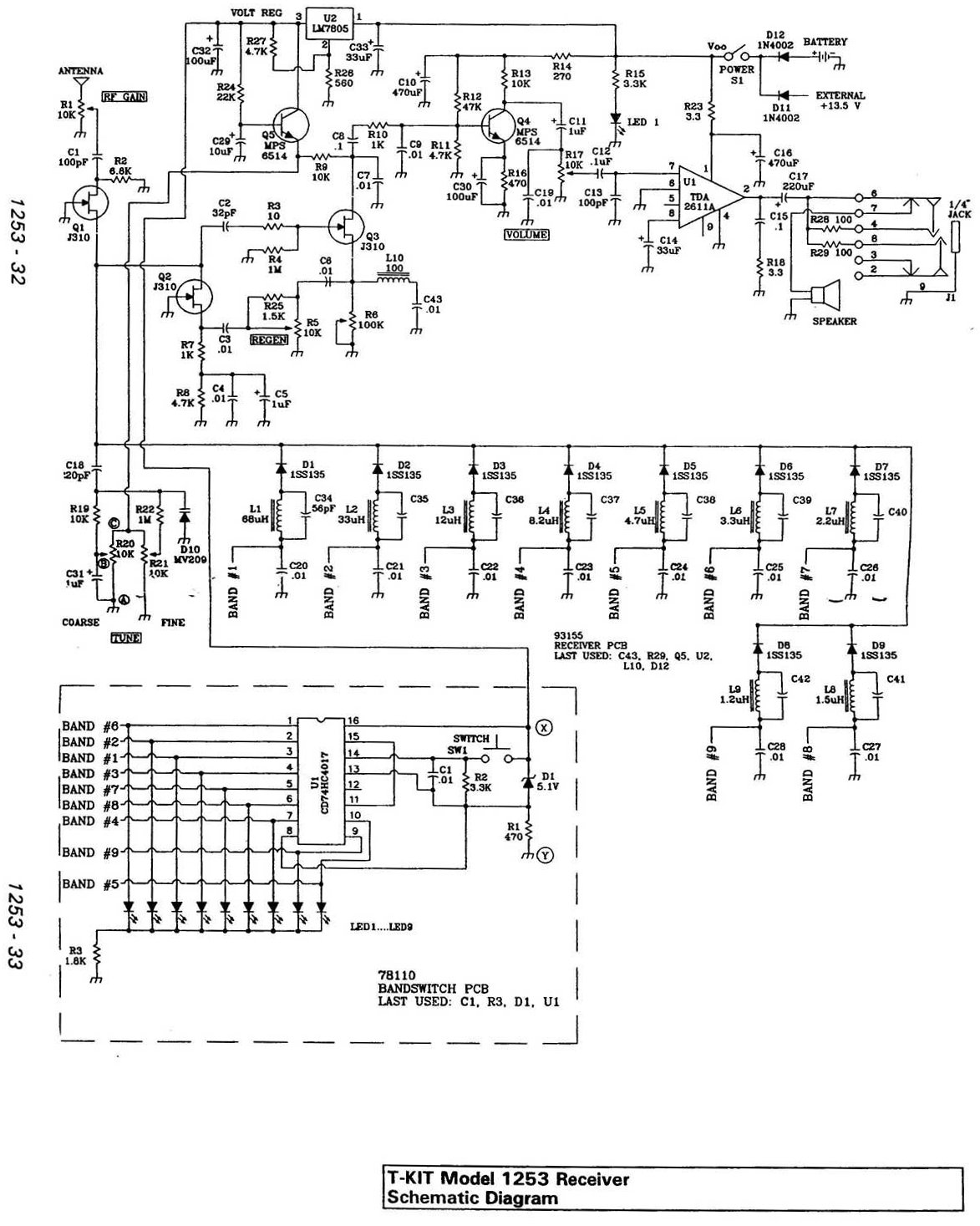 David Newkirk Writings  Enjoying Radio  Schematic Of The