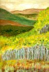 """Aspens in Fall: Changing of the Colors"" by Henry Masterson"